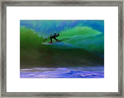 Front Side Tube Framed Print by Michael Pickett