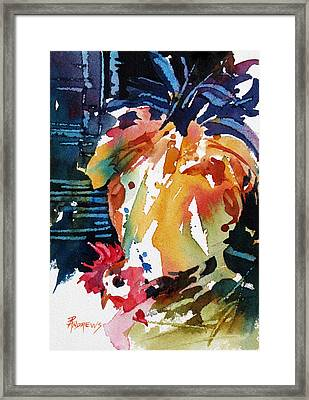Front To Back Framed Print by Rae Andrews