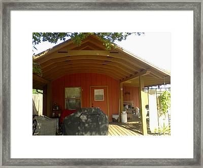 Front View My Studio Workshop Framed Print