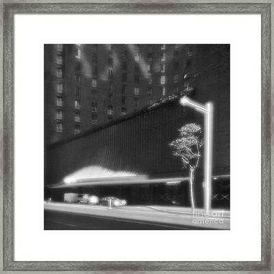 Frontage Of Hotel In Sydney Framed Print by Colin and Linda McKie