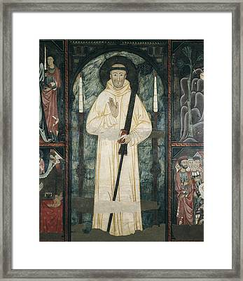 Frontal Of The Altar Of Saint Bernard Framed Print