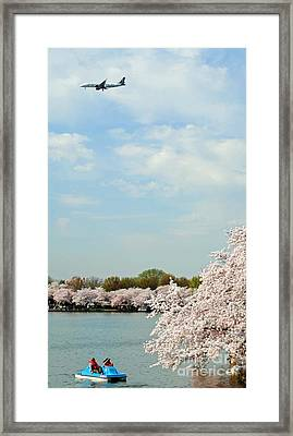 Frontier Airlines Framed Print
