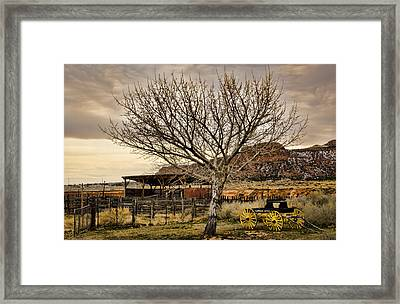 Frontier Framed Print by Heather Applegate