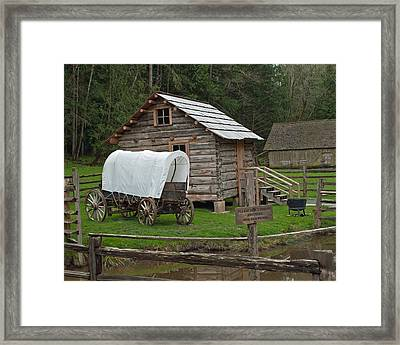 Frontier Life Framed Print