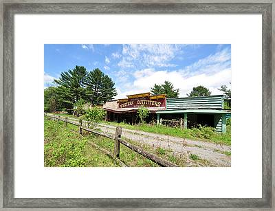 Frontier Town North Hudson Ny Framed Print
