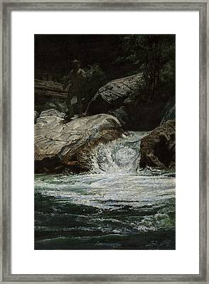 Arizona Frontiersman Rocks Framed Print