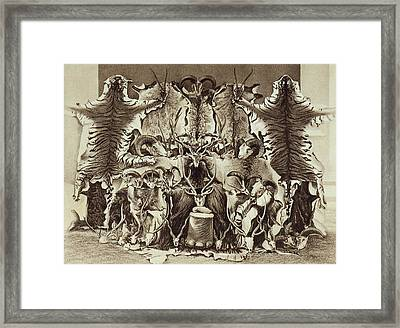 Frontispiece Of Large Game Shooting Framed Print