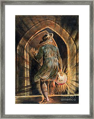 Frontispiece To Jerusalem Framed Print by William Blake