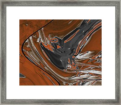 Frost And Woodsmoke 1 Framed Print