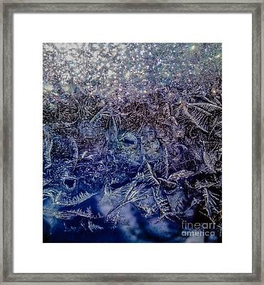 Frost Framed Print
