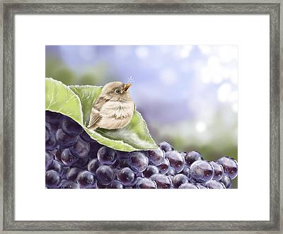 Frost Framed Print by Veronica Minozzi