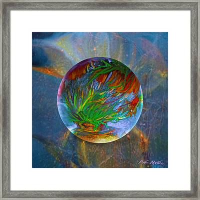 Frosted Still Framed Print by Robin Moline