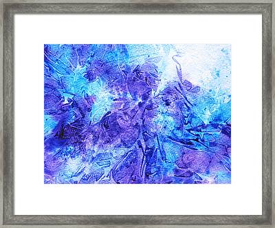 Frosted Window Abstract I   Framed Print