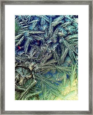 Frostian II Framed Print