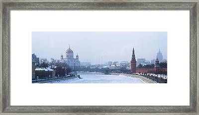 Frosty Day - Featured 3 Framed Print by Alexander Senin