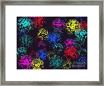 Framed Print featuring the photograph Frosty Marbles by Mark Blauhoefer