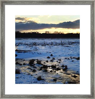 Frosty Morn At Story Framed Print