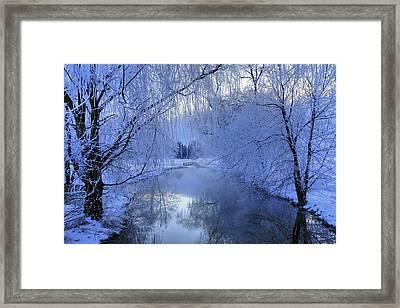 Frosty Morn Framed Print