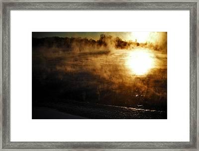 Frosty Morning ... Framed Print