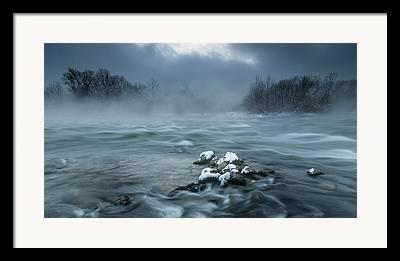 Ice Fog Framed Prints
