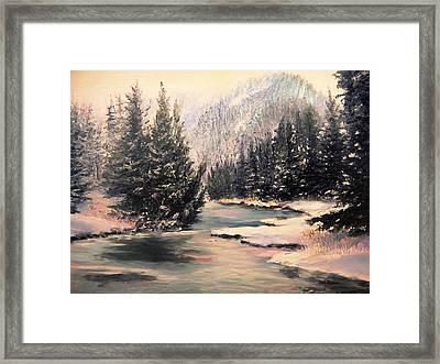 Frosty Morning Framed Print by Patti Gordon
