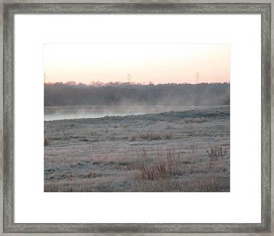 Frosty Morning Framed Print by Rosalie Klidies