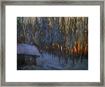 Frosty Morning Framed Print by Valery Kosorukov