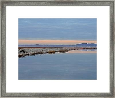 Frosty Morning Framed Print by Nancy Landry