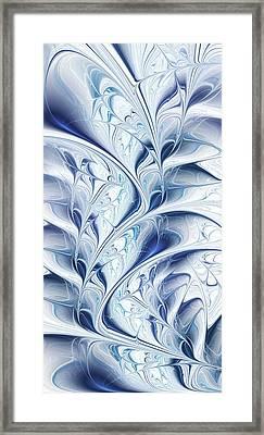 Frozen Framed Print by Anastasiya Malakhova