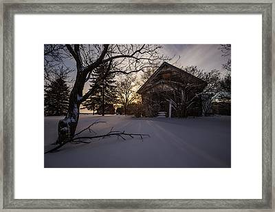 Frozen And Forgotten 2 Framed Print by Aaron J Groen