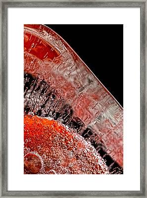 Frozen Balls Framed Print by Bob Orsillo