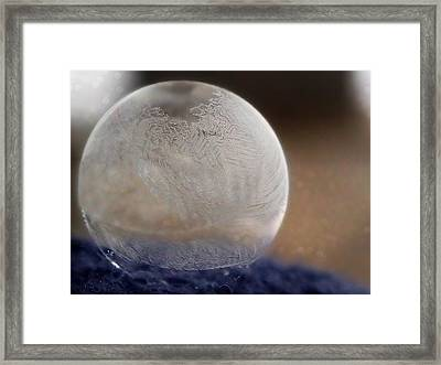 Frozen Bubble Framed Print
