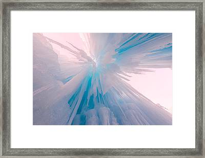 Frozen Framed Print by Chad Dutson