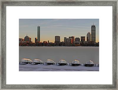 Frozen Charles Framed Print by Juergen Roth