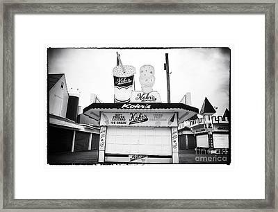 Frozen Custard Framed Print by John Rizzuto