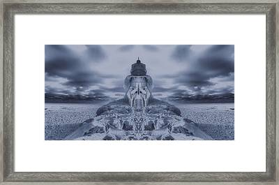 Frozen Dream On The Coast Framed Print by Dan Sproul