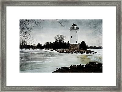 Frozen Entry 3 - De Framed Print