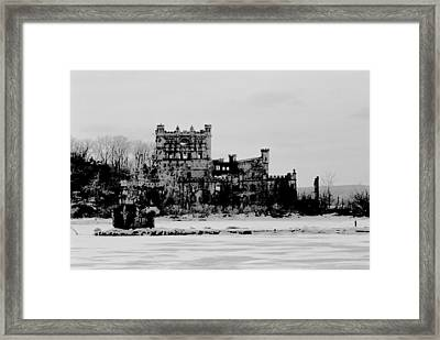 Frozen In Time And Place Framed Print by Steven Huszar
