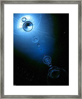 Frozen In Time And Space Framed Print by Phil Perkins