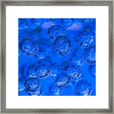 Frozen In Time Blue Framed Print by Scott Campbell