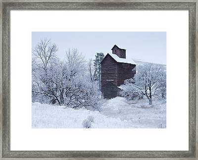 Frozen In Time Framed Print by Darren  White