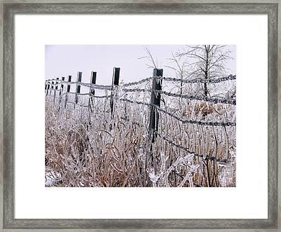 Frozen In Time Framed Print by JC Findley