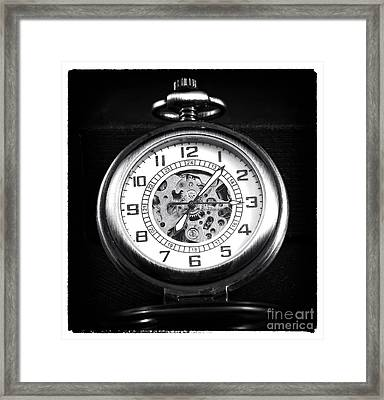 Frozen In Time Framed Print by John Rizzuto