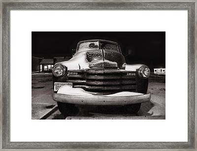Frozen In Time Framed Print by Ken Smith