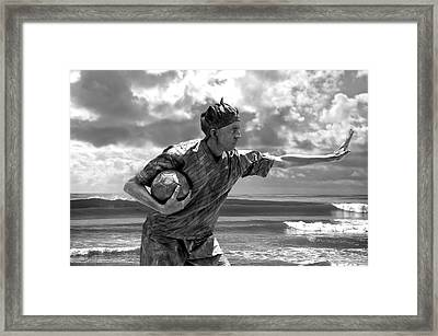 Frozen In Time Framed Print by Larry Butterworth