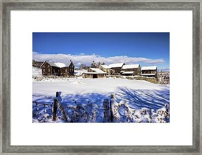 Frozen In Time One  Framed Print