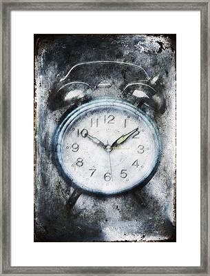 Frozen In Time Framed Print by Skip Nall