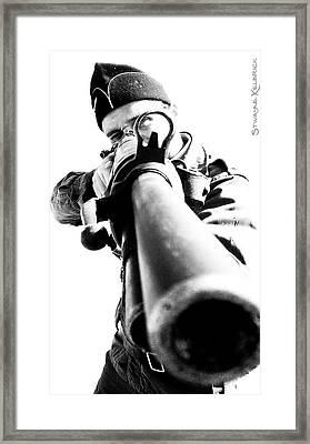 Framed Print featuring the photograph Frozen Kill by Stwayne Keubrick