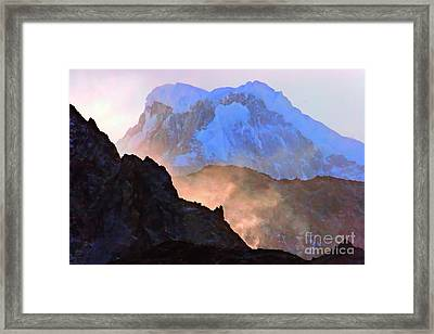 Frozen - Torres Del Paine National Park Framed Print by Tap On Photo