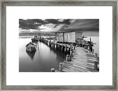 Frozen Melody Framed Print by Jorge Maia